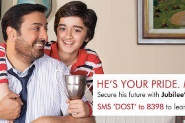 He's your pride - Make him Proud | Jubilee Life Insurance