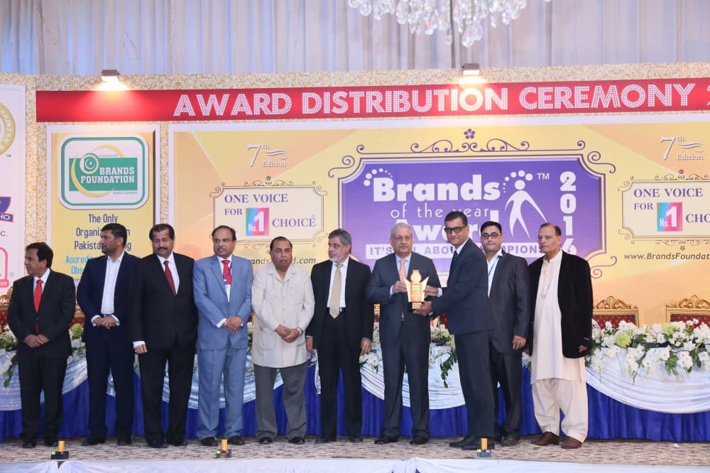 Jubilee life Wins Brands of the year award 2015-2016